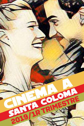 Cartell de Cinema a Santa Coloma