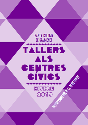 Cartell dels Tallers d'Hivern